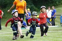 Závody dobrovolných hasičů v Třebovli