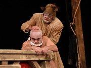 Představení Šašek a syn v Městském divadle v Kolíně.