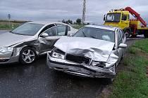 Autonehoda u Bečvár