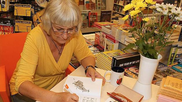 Autogramiáda Ireny Fuchsové