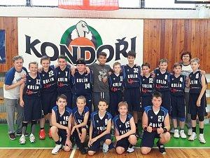 Basket mládež.