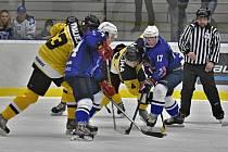 Hokejisté Kolína prohráli doma s Moravskými Budějovicemi 2:3.
