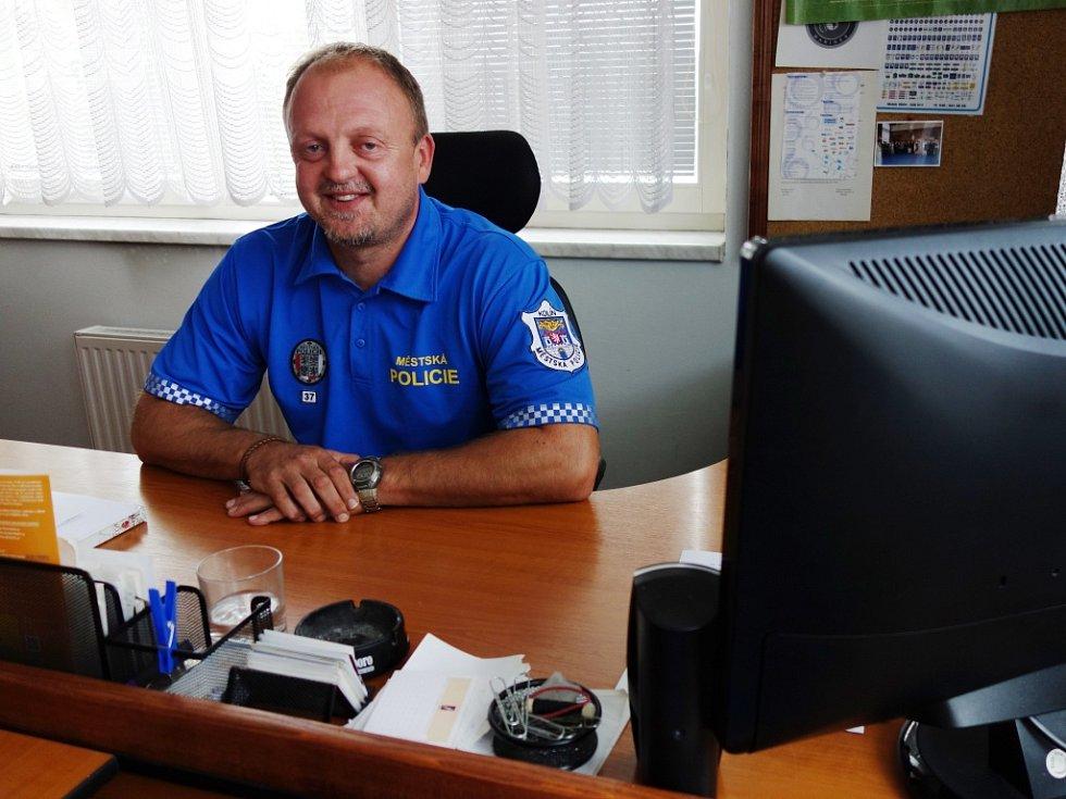 Ředitel městské policie Viktor Prokeš