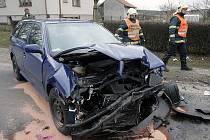 Dopravní nehoda u Němčic.