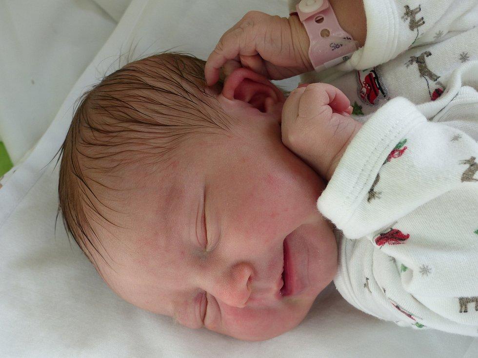 Gabriela Jandová se narodila 19. května 2020 v kolínské porodnici, vážila 3355 g a měřila 49 cm. Do Vitic odjela s maminkou Gabrielou a tatínkem Davidem.