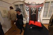 Z vernisáže výstavy Josef Lada jak ho neznáte ve Veigertovském domě Regionálního muzea vKolíně.