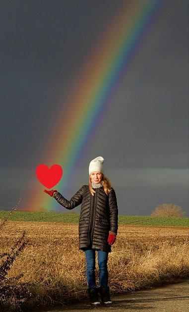 Výtvarnice Andrea Soukupová zVrbčan.
