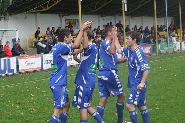 Z utkání FK Kolín - Hlavice (3:0).