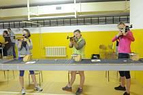 Kolínské sportovní dny 2014 - sportovní střelba.