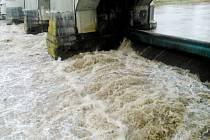 Kolínská vodní elektrárna.