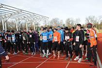 Na start 53. ročníku Silvestrovského běhu se postavilo celkem 149 běžců.
