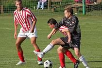 Z utkání Polepy - Zápy (1:0).