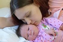 Karolína Šandová se narodila 14. prosince 2020 v kolínské porodnici, vážila 3325 g a měřila 48 cm. Ve Volárně se z ní těší sestřičky Vaneska (6), Terezka (4) a rodiče Lucie a Jan.