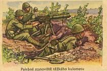 Sběratelské kartičky byly věnované také Československé armádě