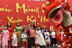 Vietnamci slavili v Městském společenském domě v Kolíně.
