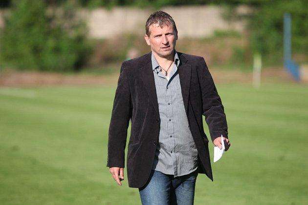 Trenér Kolína Roman Veselý.