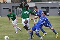 Z utkání FC Chomutov - FK Kolín (3:0).