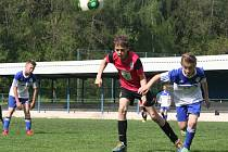 Z utkání FK Kolín U12 - Mladá Boleslav (3:11).