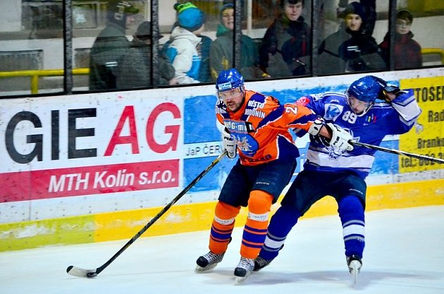 Čtvrté utkání semifinálové série play off druhé ligy prohráli Kozlové s Hodonínem 3:4.