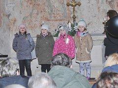V Třebovli zavítali lidé do kostela.