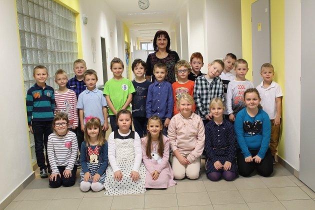 Základní škola Žitomířská vČeském Brodě: třída 1.B.