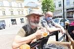 Ze setkání fanoušků jižanské a bluesové hudby v Kolíně.