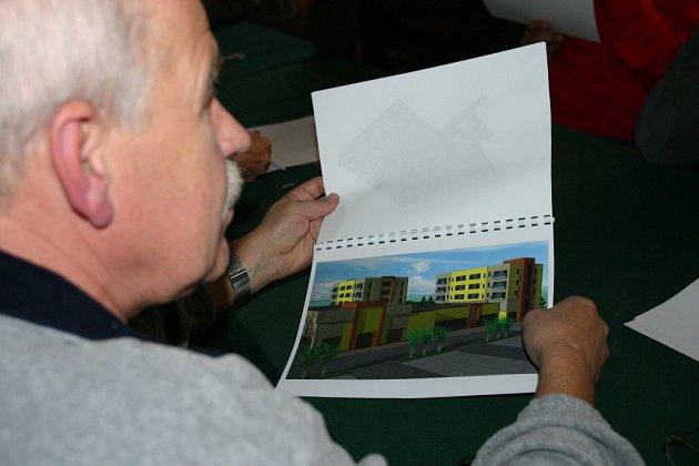 Obyvatelé Kolína, kteří zavítali do Obecního domu, se dozvěděli podrobnosti o chystané výstavbě.