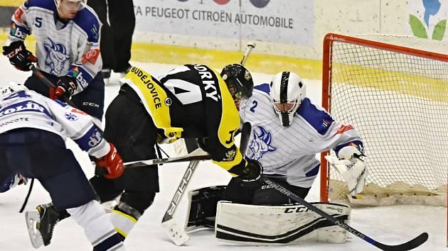 Hokejisté Kolína poprvé v sezoně vyzráli na Moravské Budějovice. V tabulce jim patří šestá příčka.