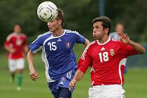 Z mezinárodního turnaje hráčů do 18 let hraný na hřišti FK Kolín.