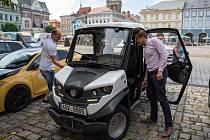 První elektromobil ve službách města Kolína.