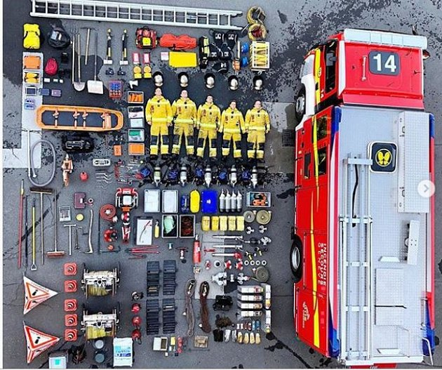 #tetrischallenge vpodání ženevských hasičů.
