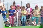 Slavnostní zakončení výstavby nového sběrného dvoru v Liblicích doprovodil i dětský den