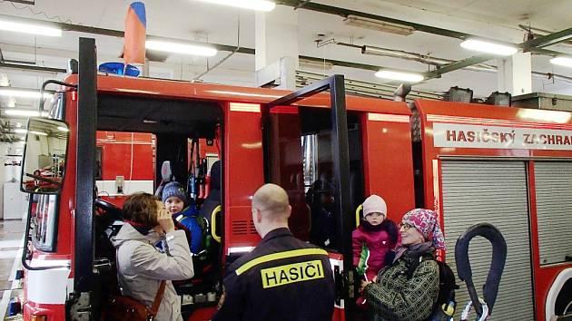 Den požární bezpečnosti u hasičů v Kolíně