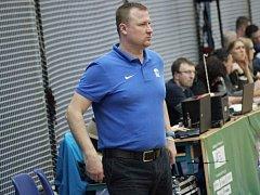 Trenér kolínských basketbalistů Pavel Beneš.