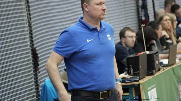 Trenér Pavel Beneš.