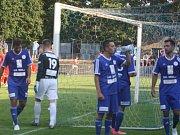 Z utkání FK Kolín - Mšeno/Jablonec nad Nisou (1:4).