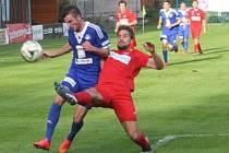 Z utkání FK Kolín - Ústí nad Labem (1:0).