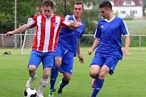 Z utkání Liblice - Tuchoraz (2:1).