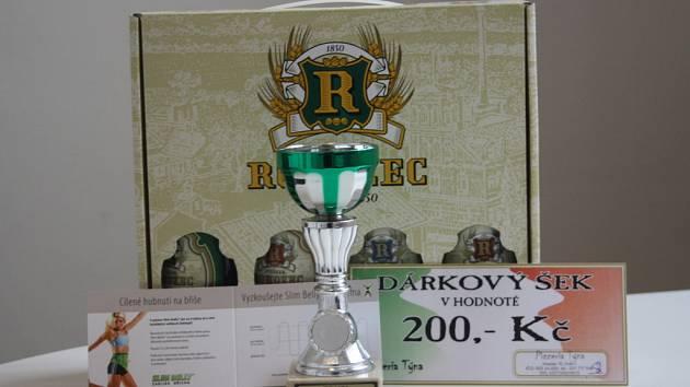 Vítěz 12. kola Ladislav Louda  z Peček získal karton piv značky Rohozec, poukaz v hodnotě 200,-Kč do pizzerie Týna, volnou vstupenky do fitnessu Paty (cvičení Slim Belly) a pohár od firmy Sportforte.