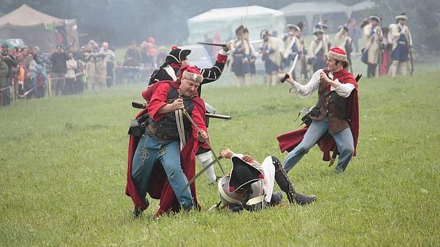 Bitva u Kolína. Ilustrační foto