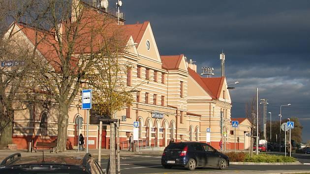 Nádraží v Českém Brodě