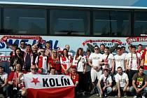 Slávisté z Kolína společně vyjeli fandit, chystají bowlingový turnaj.