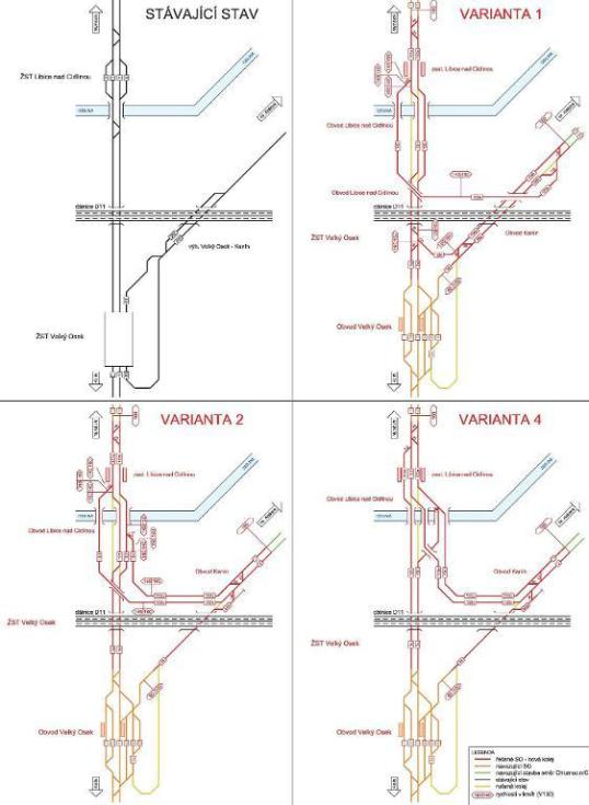 Kraj doporučil dvě varianty pro modernizaci trati u Kolína