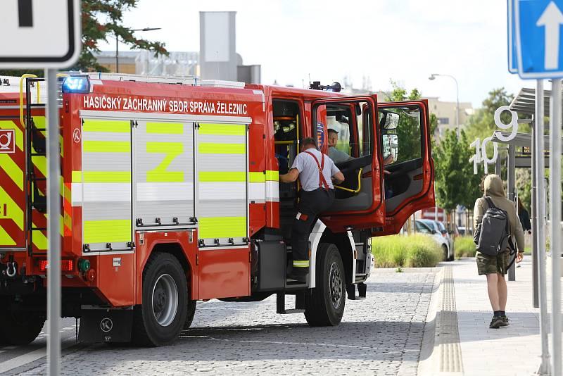 Kolínské nádraží bylo kvůli podezření na přítomnost výbušniny ve čtvrtek 2. září 2021 odpoledne částečně uzavřeno.