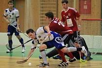 Z pohárového utkání Kolín - Náchod (9:6).