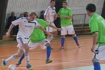 Z utkání SKP Kolín - Dobřichovice (6:1).