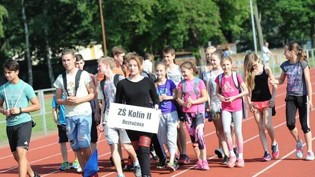 Kolínské sportovní hry, první den