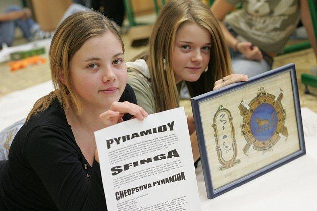 Projekt Mumie na 5. ZŠ Kolín