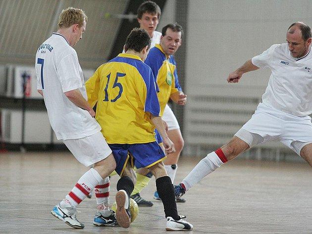 Z utkání SKP Kolín - TT Dobřichov (13:2).