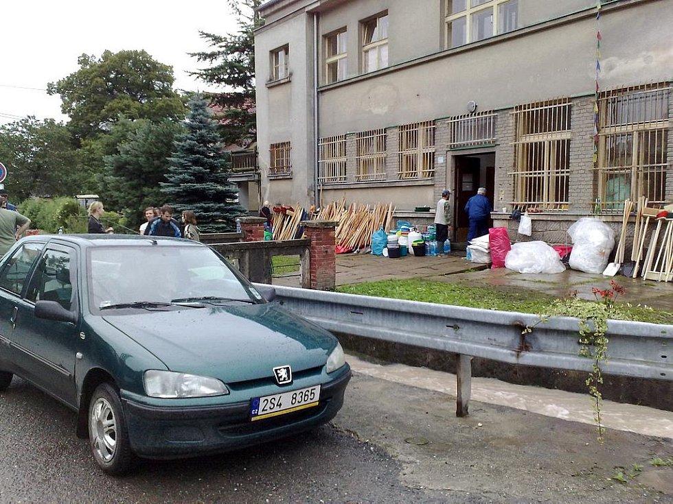 Základna pomoci ve Višňové